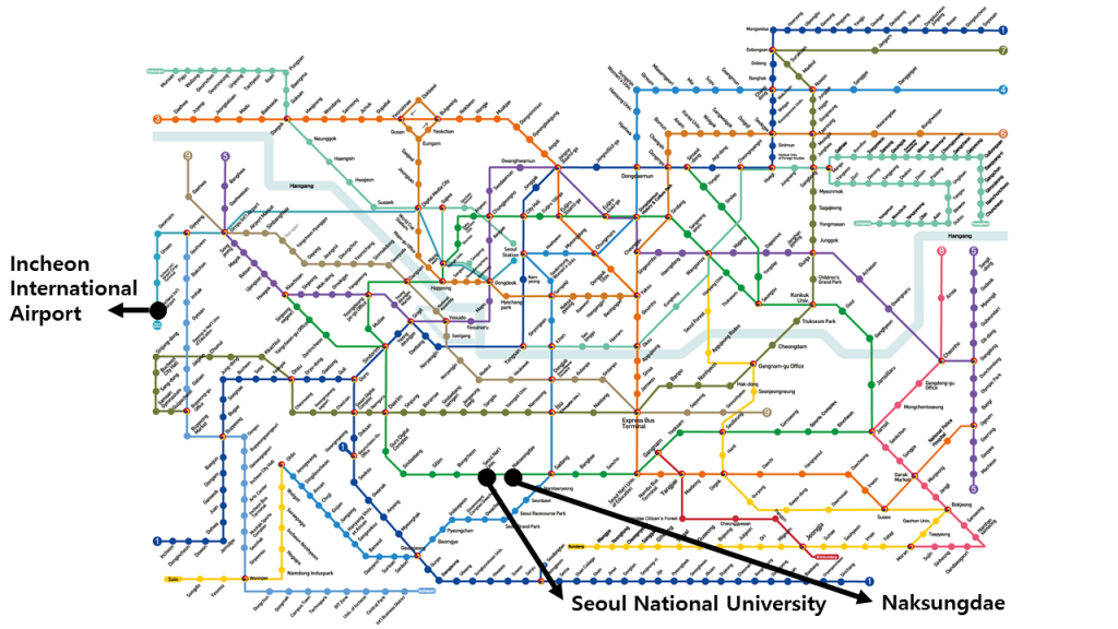 Seoul Station Subway Map.Directions Apms Conference